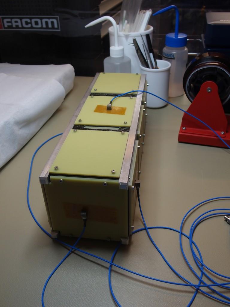 Premiers Tests Mécaniques IGOSat