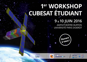 Le premier Workshop Cubesat Étudiant ! 9 & 10 Juin 2016